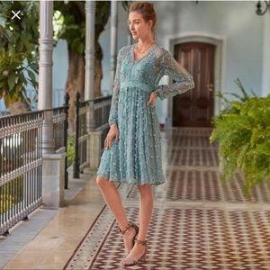 SUNDANCE Pretty As A Picture Dress